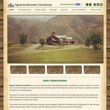 Figueroa Mountain Farmhouse